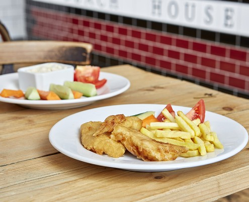 Kid's menu in Worthing | Family friendly seafront bar in Worthing