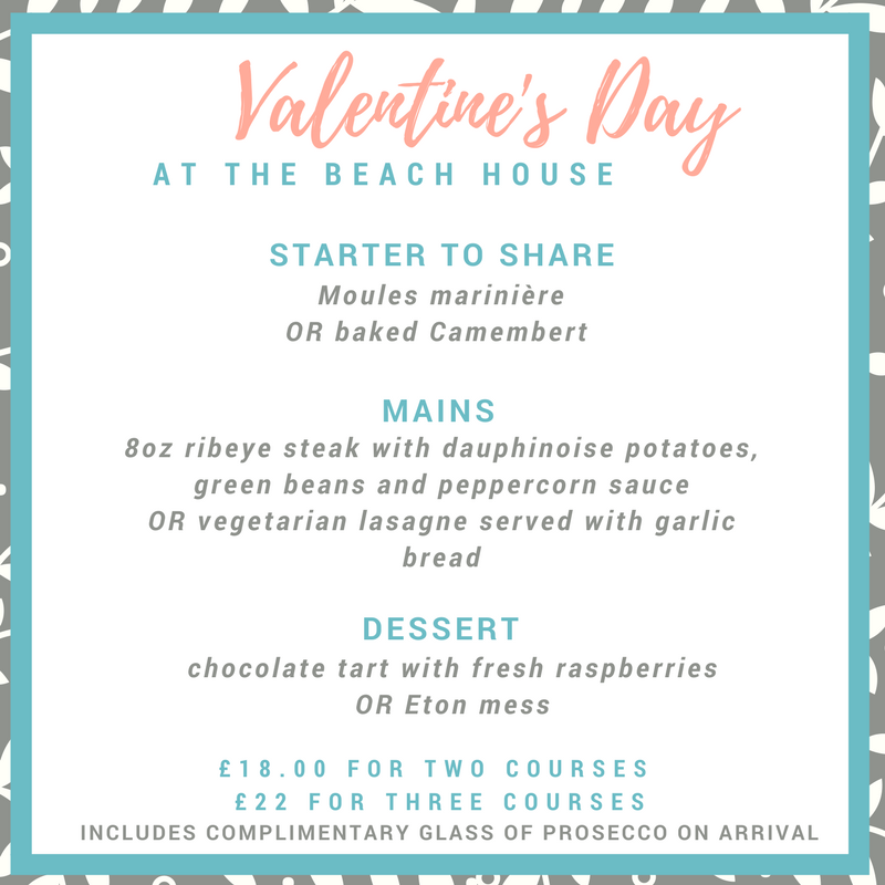 valentine's day in Worthing