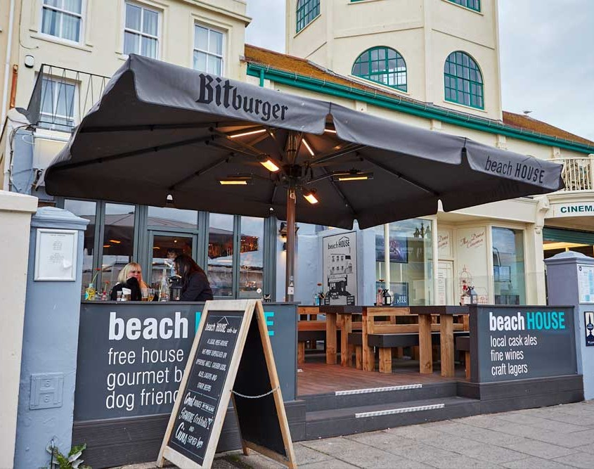 Relaxed Food in Worthing | The Beach House