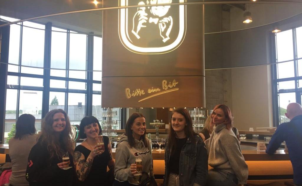 L-R Jess, Dolly, Rachel, Sian & Krizstina